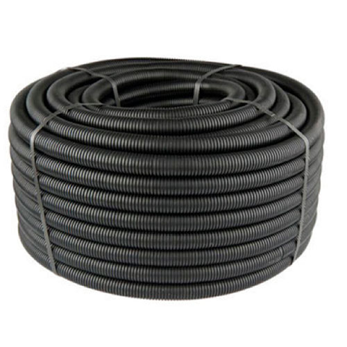 26mm Spiral Boru Siyah (50m)
