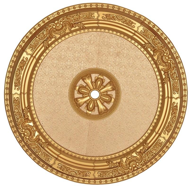 Altın Oval Saray Tavan Göbeği 90cm (DO90-A1)