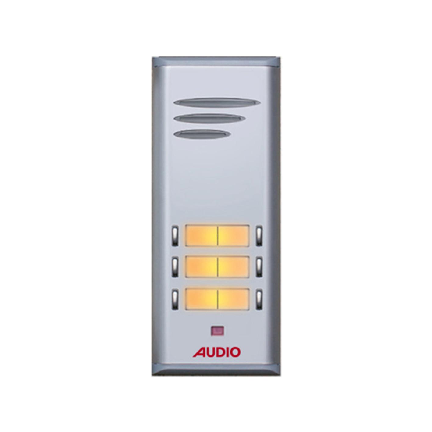 Audio 6'lı HP'li Çift Sıra Zil Paneli