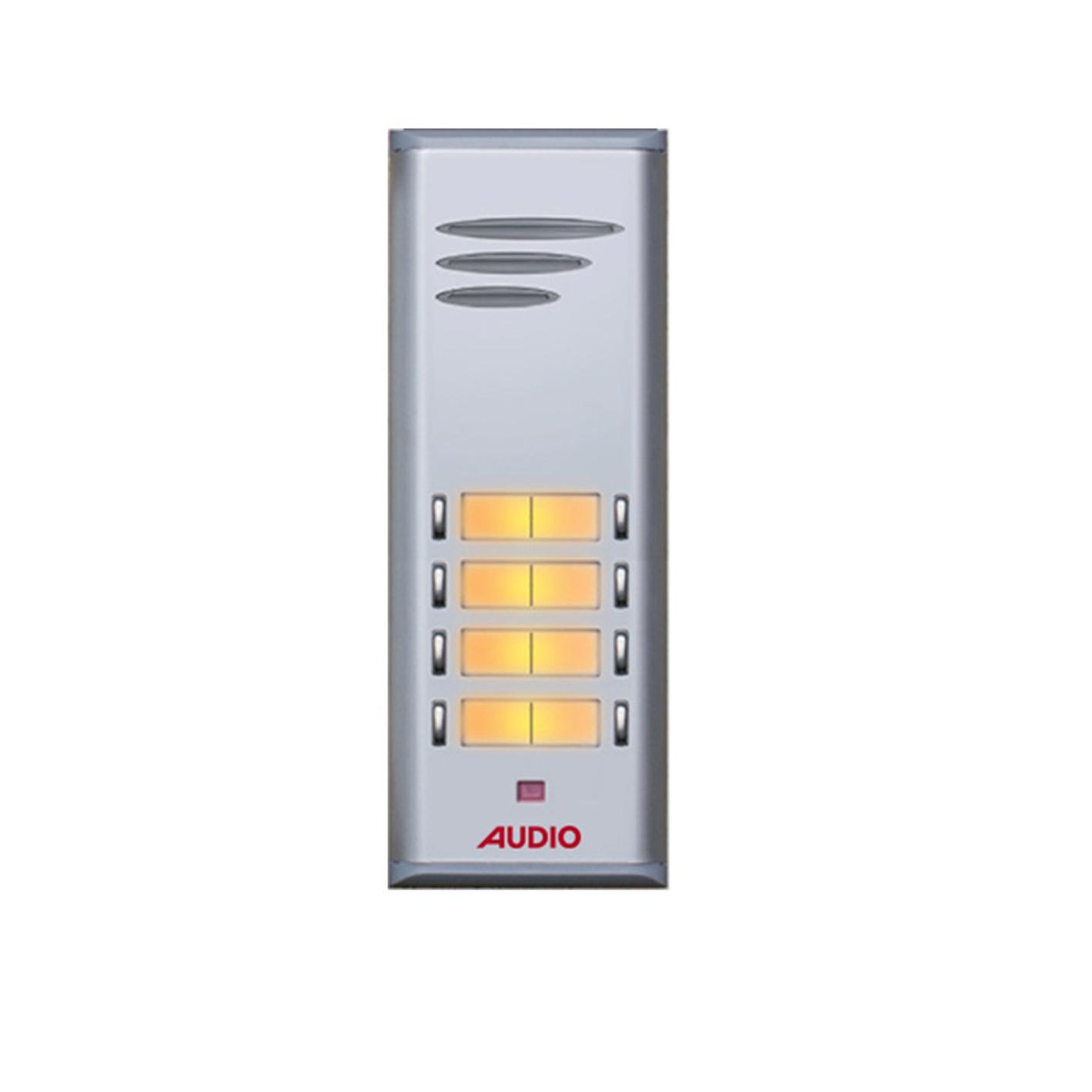 Audio 8'li HP'li Çift Sıra Zil Paneli