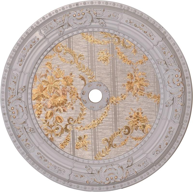 Beyaz Altın Oval Saray Tavan Göbeği 60cm (DO60-BA2)