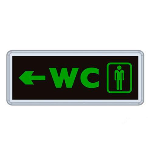 Çift Yönlü Acil Yönlendirme Armatürü Bay WC