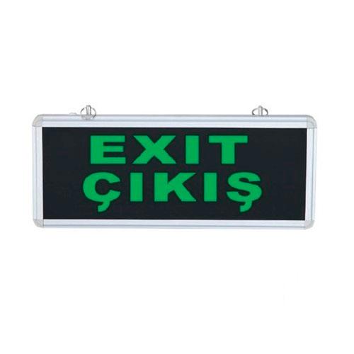 Çift Yönlü Acil Yönlendirme Armatürü Exit Çıkış