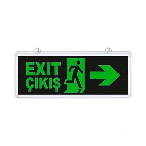 Çift Yönlü Acil Yönlendirme Armatürü Exit Sağ-Sol