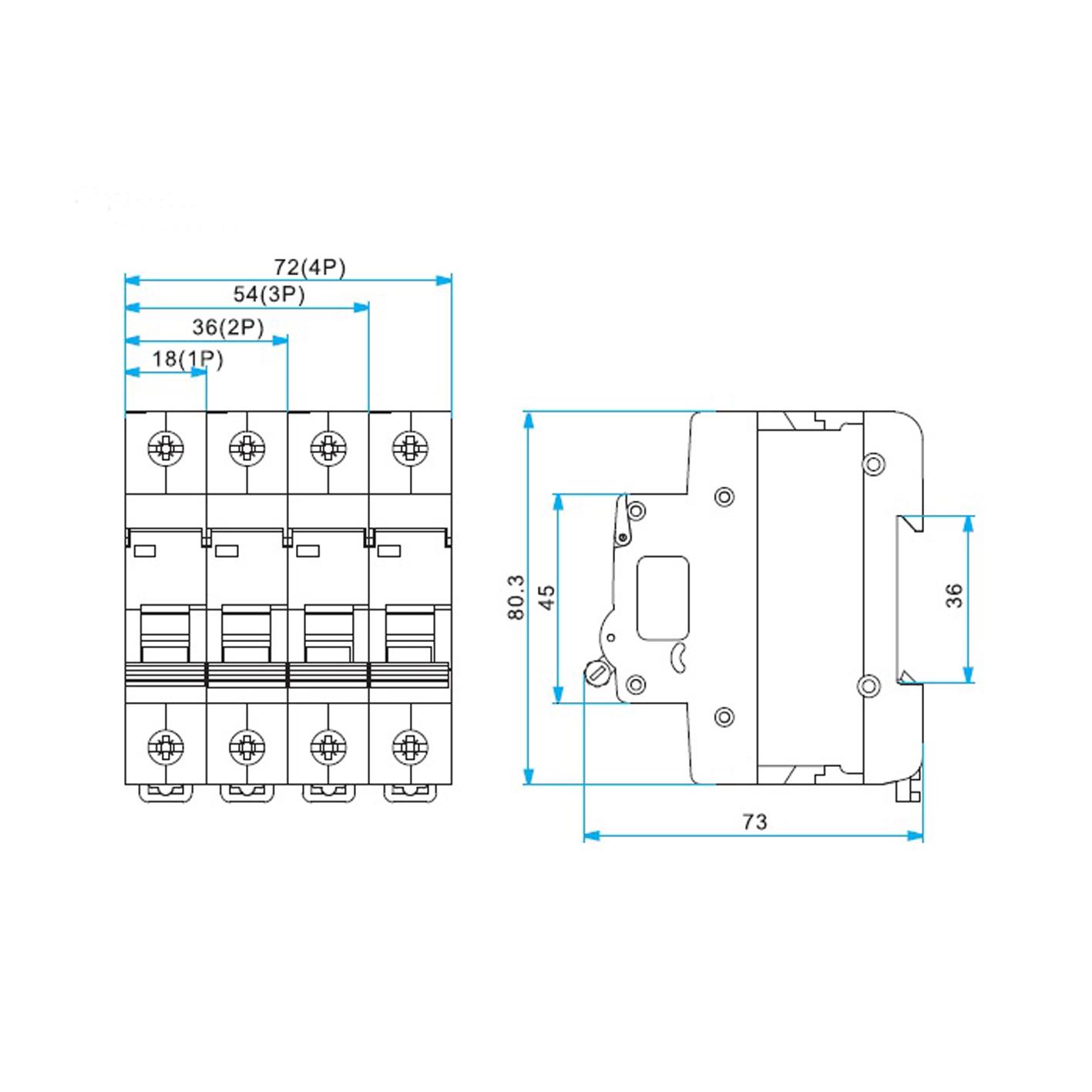 Esem 3x32A Otomatik Sigorta