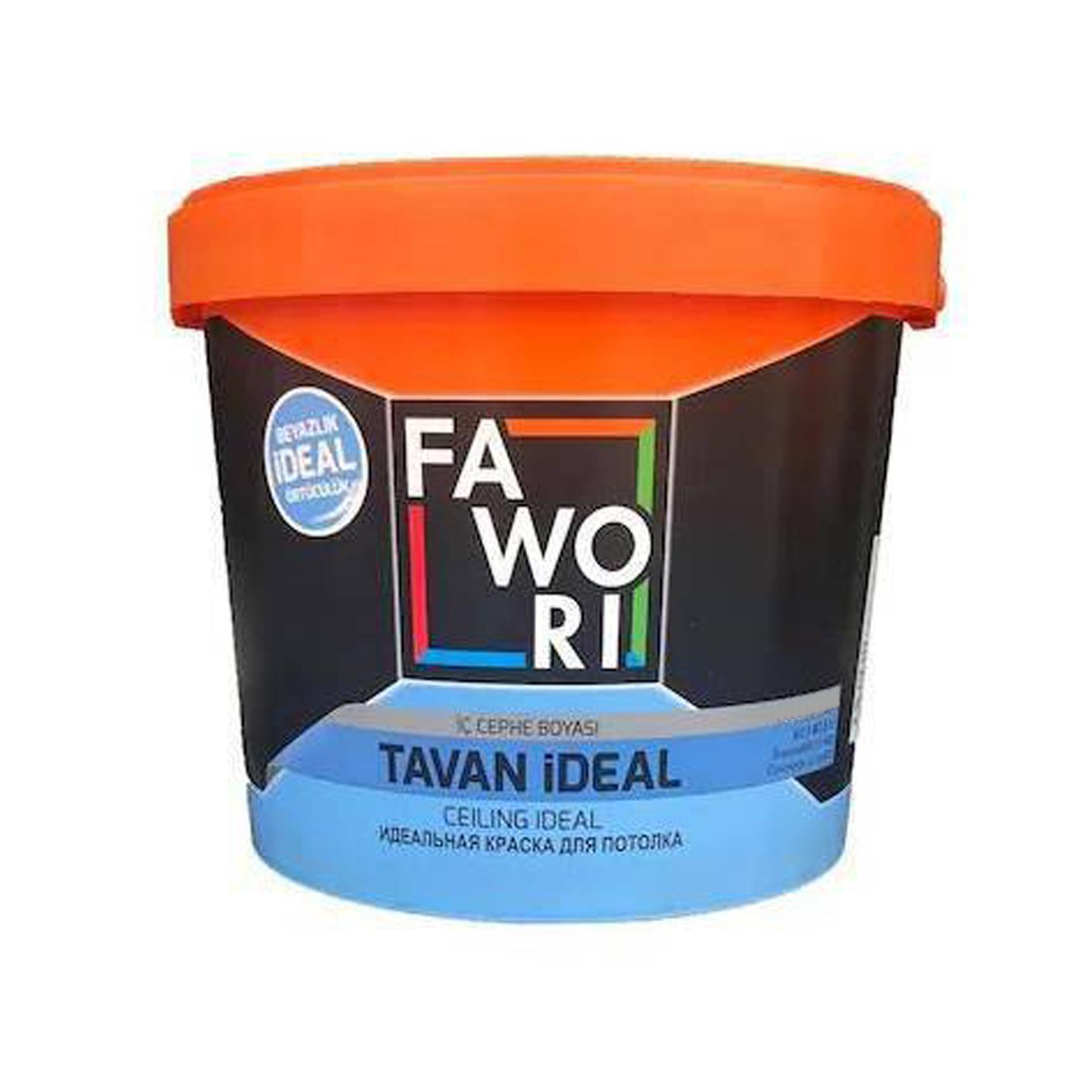 Fawori İdeal Tavan Boyası 17.5Kg
