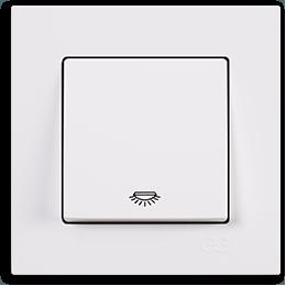 Günsan Eqona Beyaz Light Anahtar