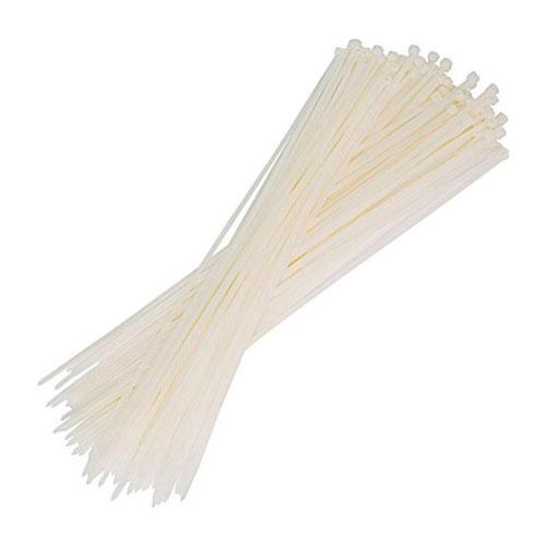 Kablo Bağı Klips Beyaz 2,5*200MM (100adet)