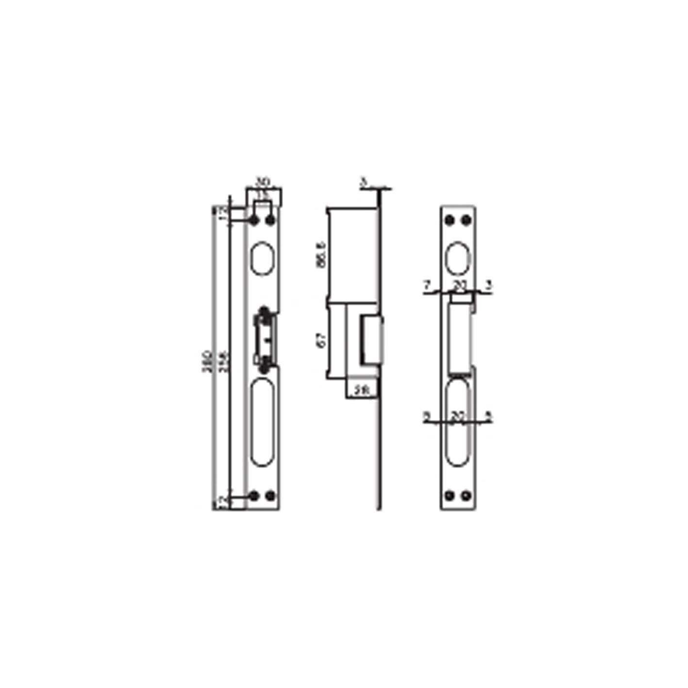 Kale KD012/20-124 Gizli Kapı Otomatiği