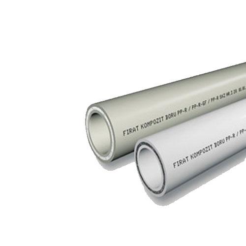 Fırat Kompozit Beyaz PPRC Boru 40 mm (4m)