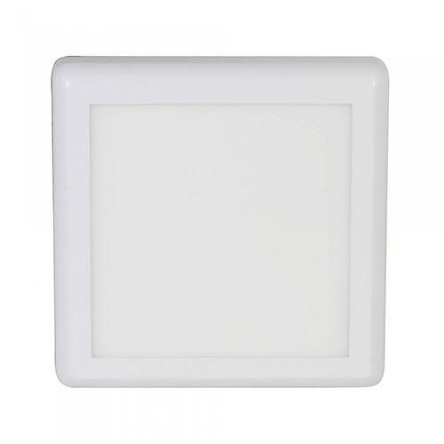 Led Panel Spot 18W Sıva Üstü Kare Beyaz Işık