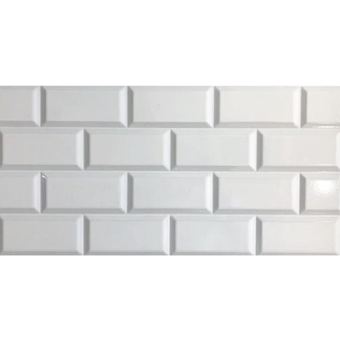 Lotus Beyaz Tezgah Arası Seramik 30x60 1Paket/ 1.62m²