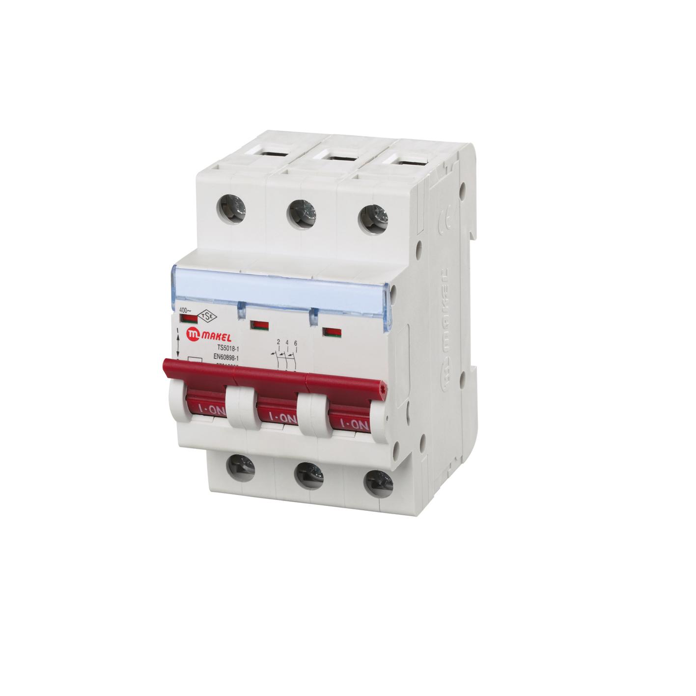 Makel 3X32A Otomatik Sigorta