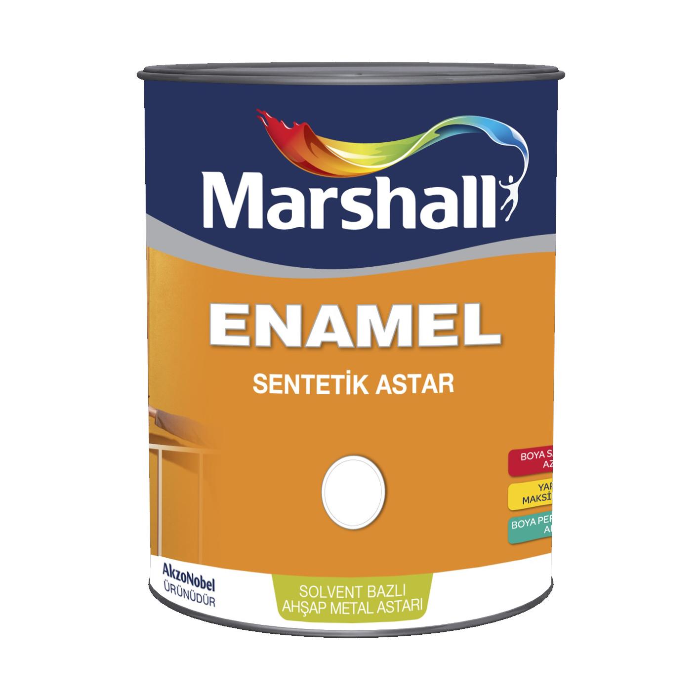 Marshall Enamel Sentetik Astar 0.75Lt
