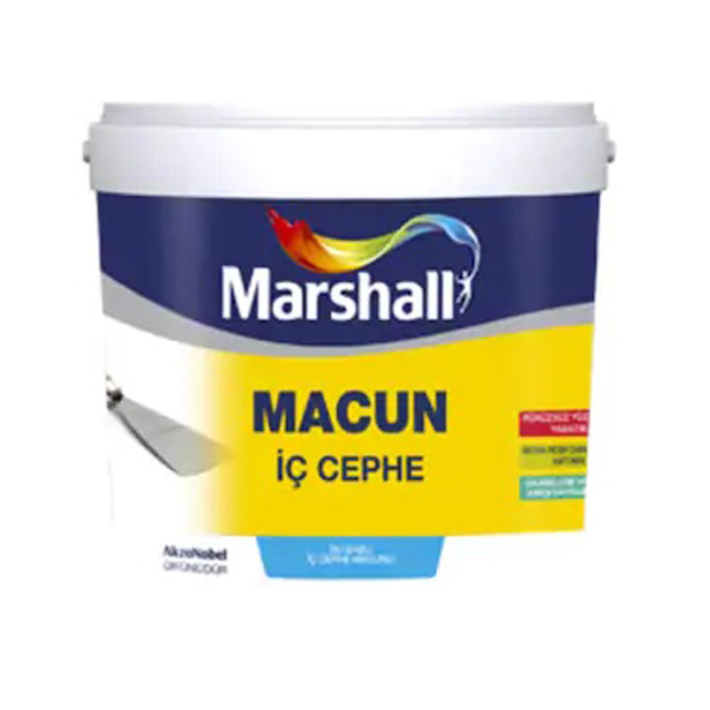 Marshall İç Cephe Macunu 4.5Kg