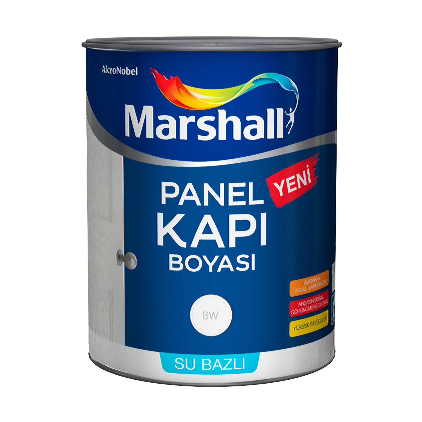Marshall Panel Kapı Boyası 1L Beyaz