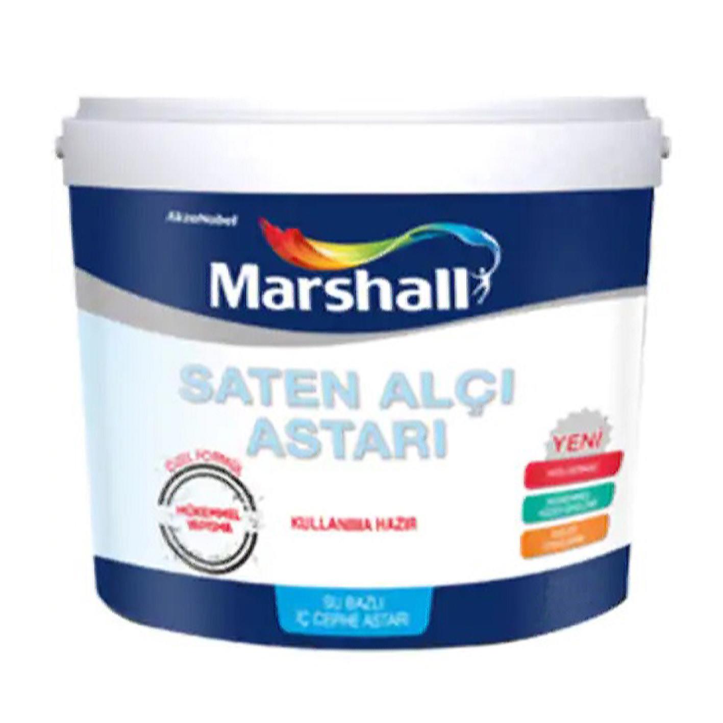 Marshall Saten Alçı Astarı 4Lt