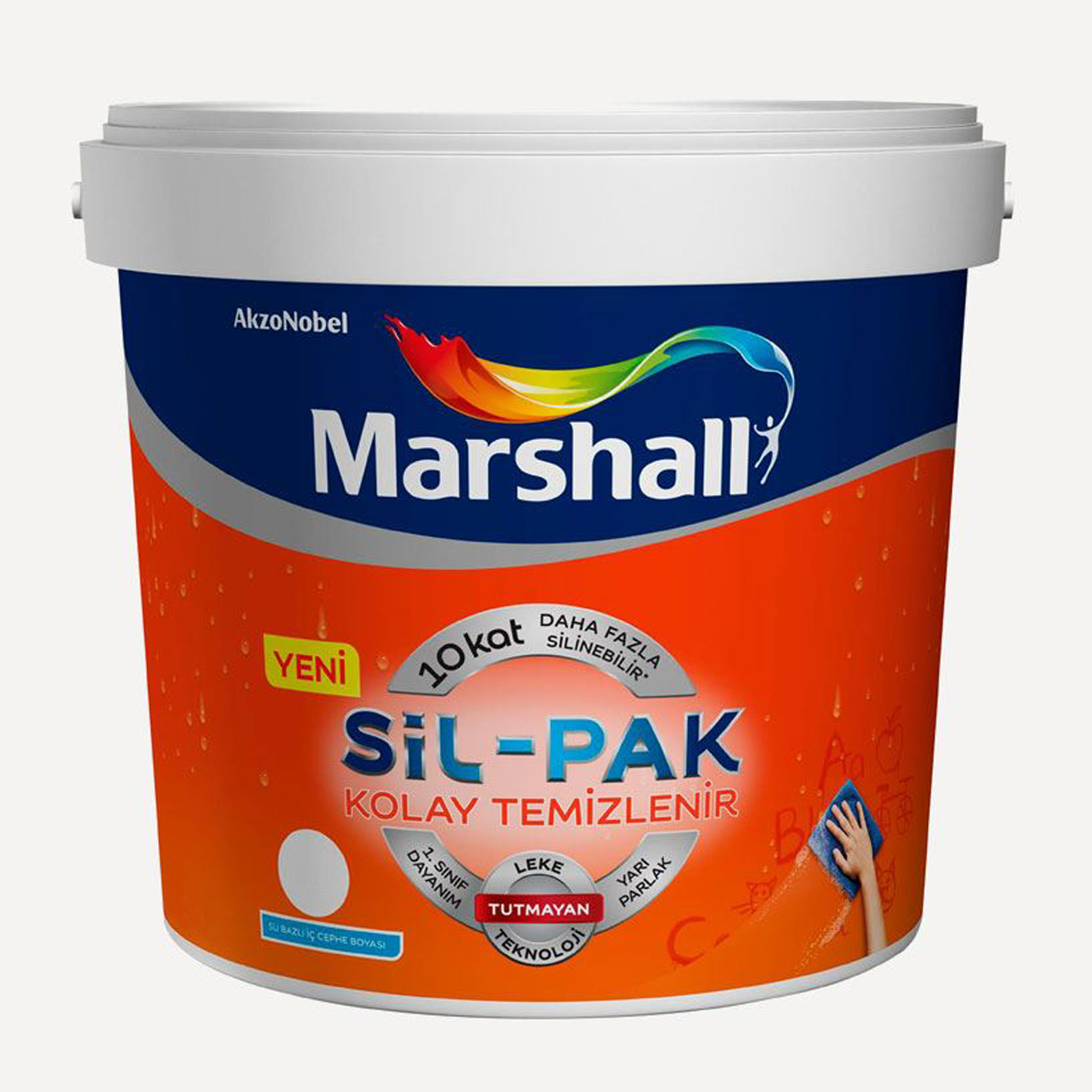Marshall Sil-Pak İç Cephe Beyaz BW 7.5Lt