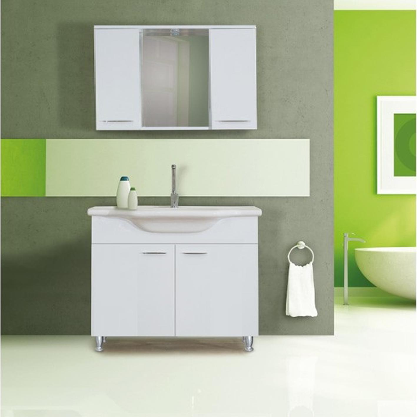 Noya Basic Banyo Dolabı 80 cm