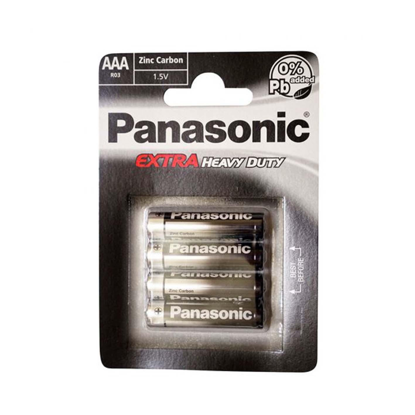 Panasonic Blister Extra Heavy Duty İnce Pil