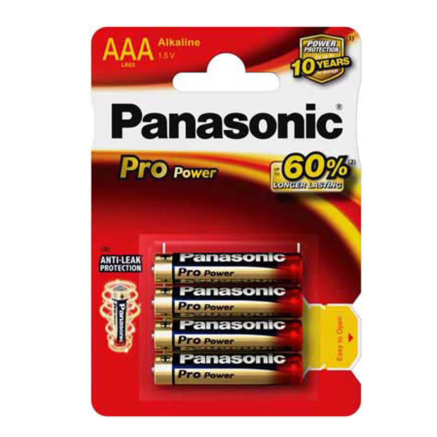 Panasonic Pro Power İnce Pil