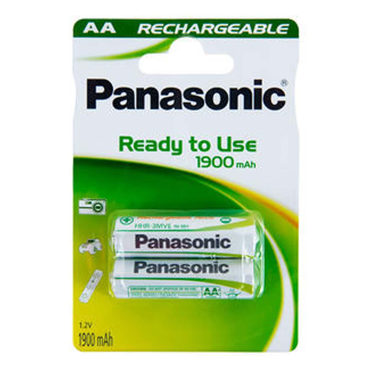 Panasonic Şarjlı Kalem Pil 2'li