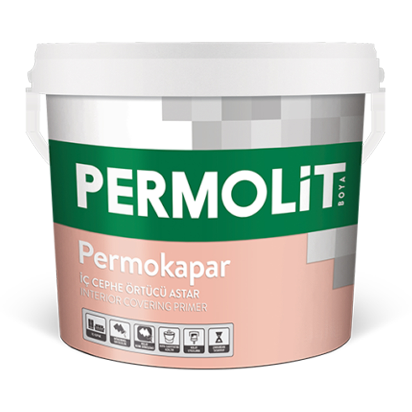 Permolit Permokapar İç Cephe Örtücü Astar 3.5Kg