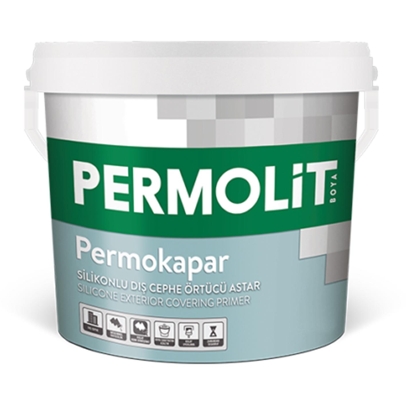 Permolit Permokapar Silikonlu Dış Cephe Astarı 3.5Kg