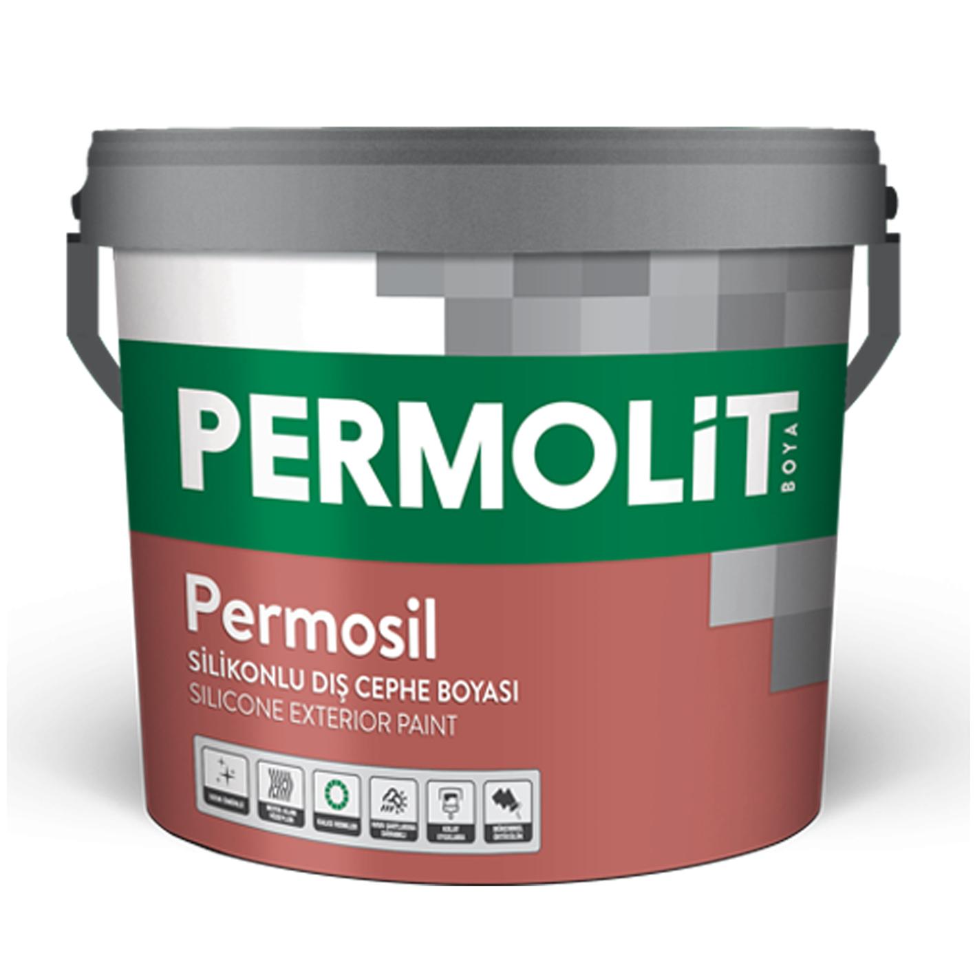 Permolit Permosil Dış Cephe Beyaz Baz 3.5Kg