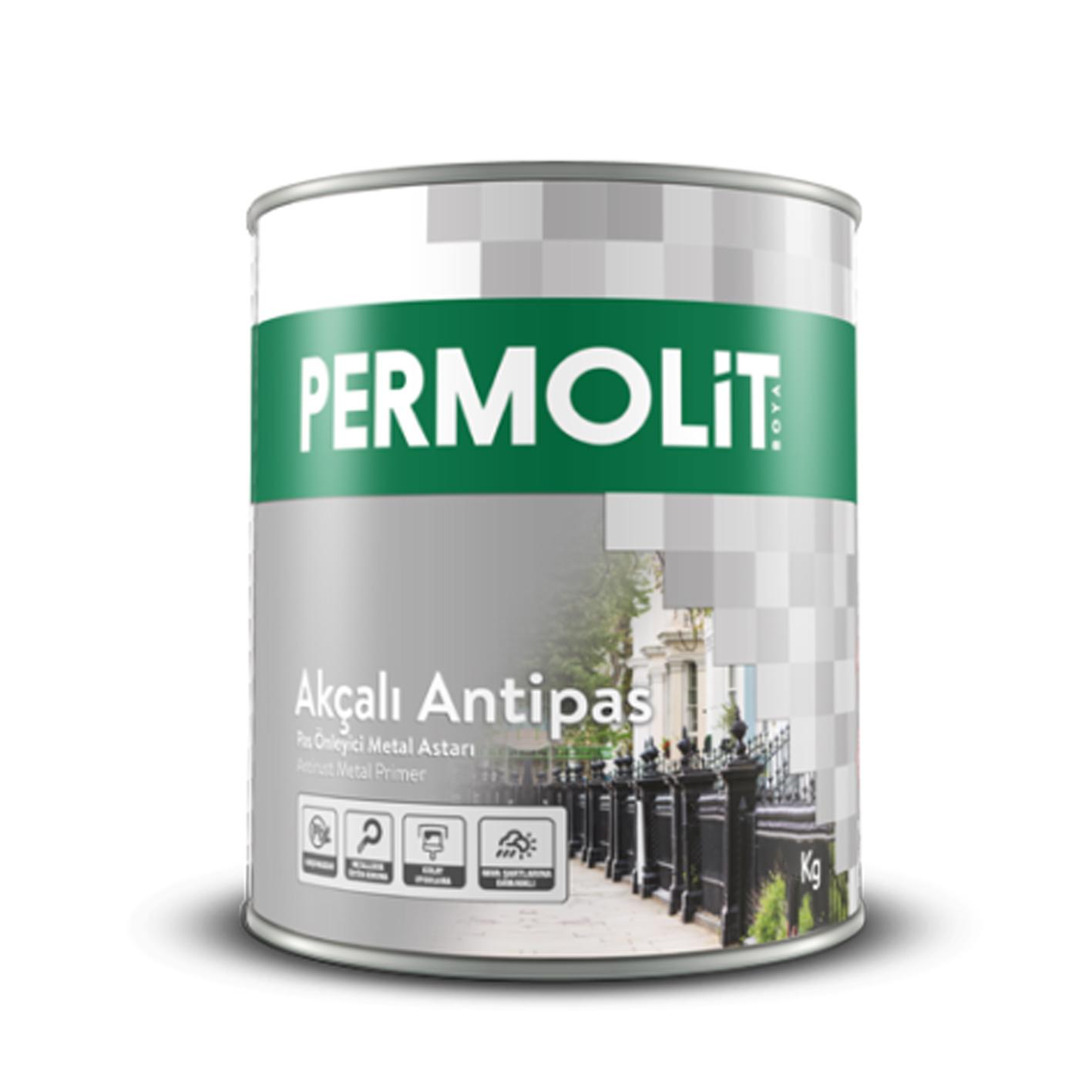 Permolit Sentetik Antipas Gri 0.75Lt