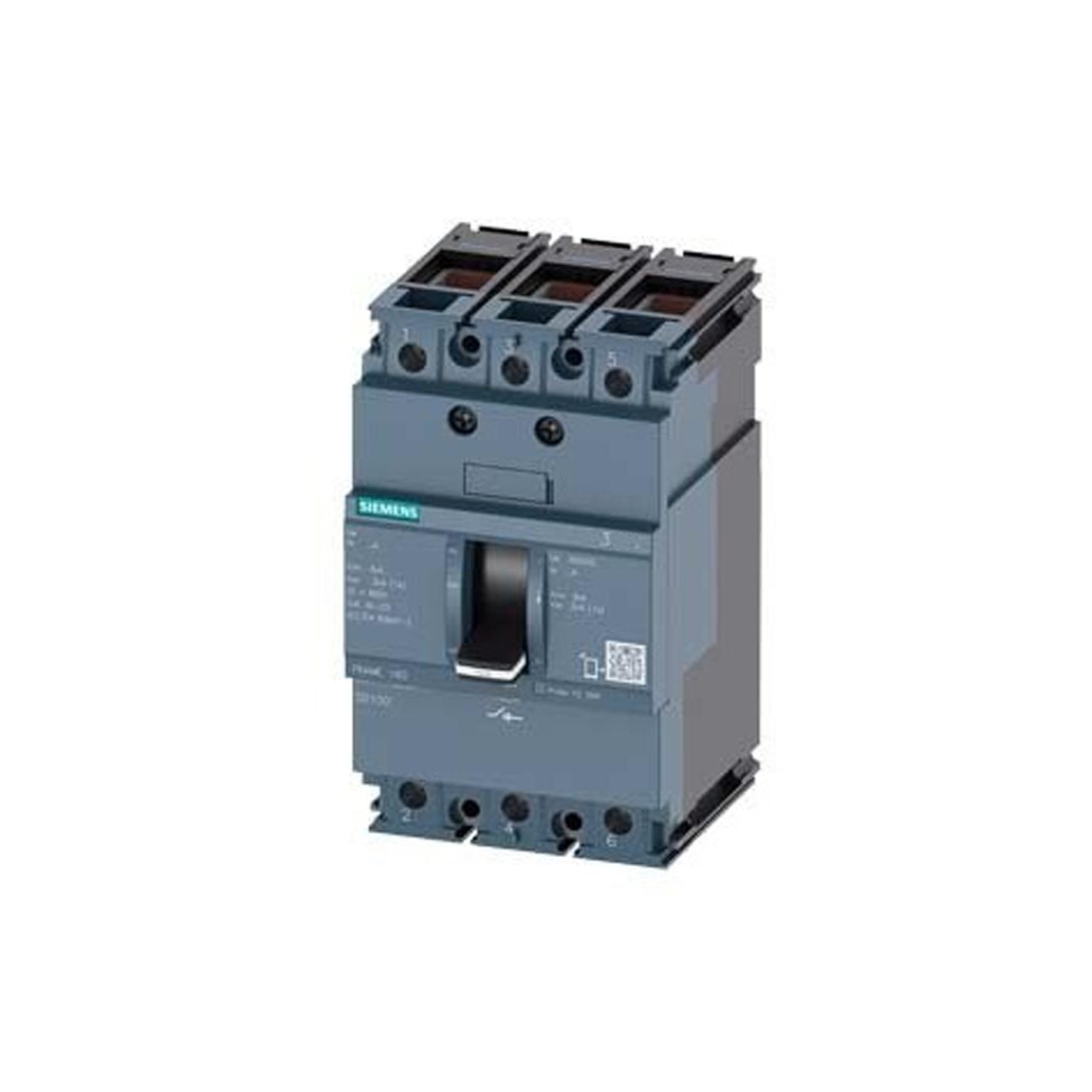Siemens 125A Kompakt Tip Termik Manyetik Güç Şalteri