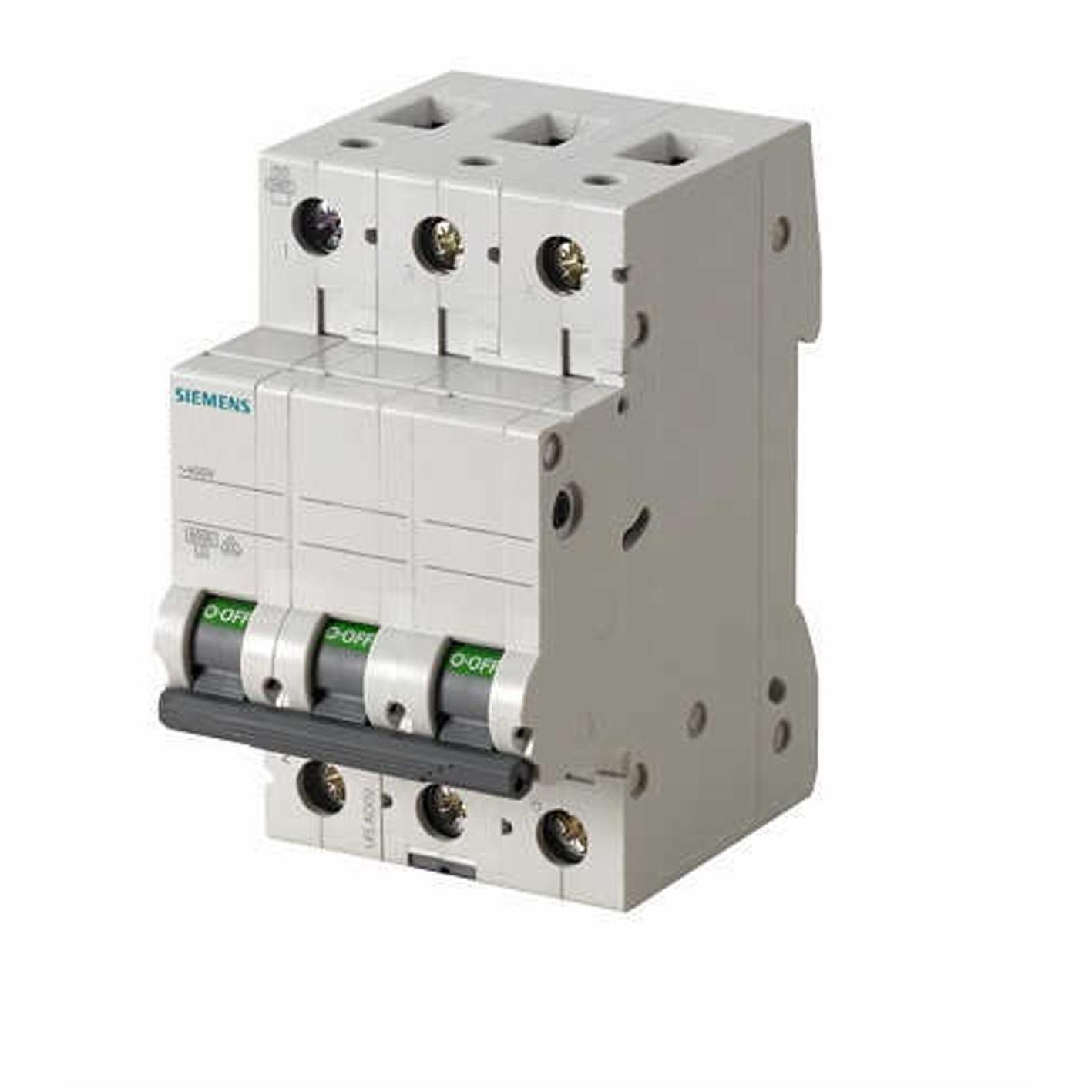 Siemens 3X50A Otomatik Sigorta