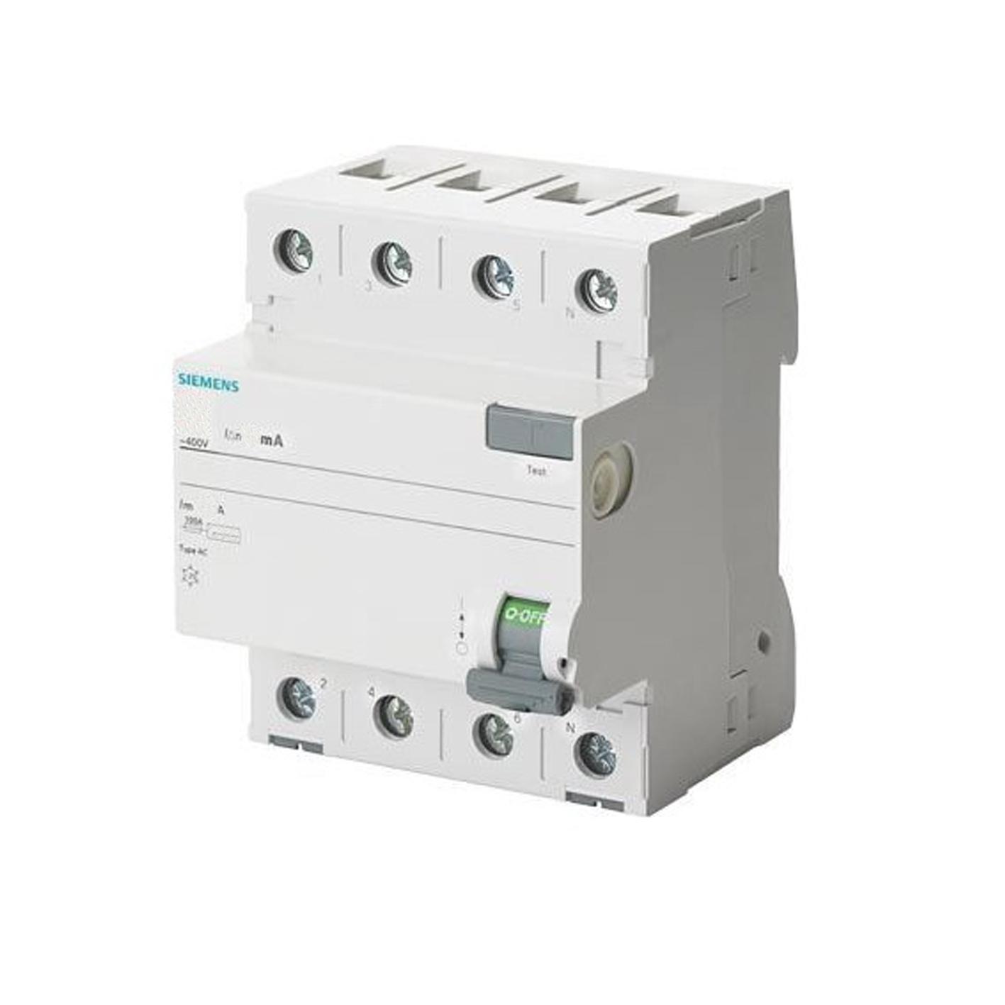 Siemens Kaçak Akım Rölesi 3x80 30mA