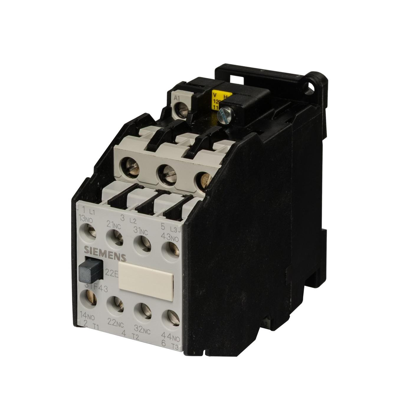 Siemens Kontaktör 3TF43-22