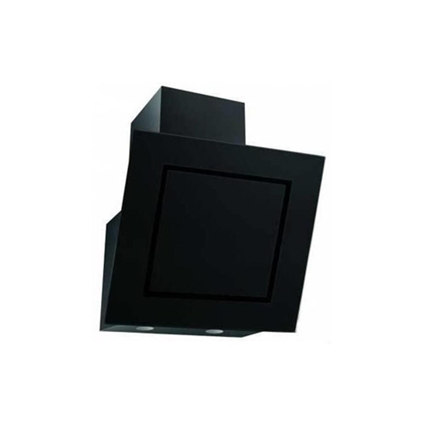 Simfer 8651 Eğimli Cam Davlumbaz Siyah