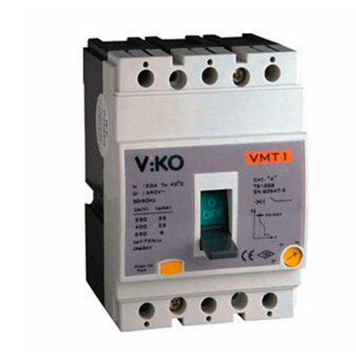 Viko 50A Kompakt Tip Termik Manyetik Güç Şalteri
