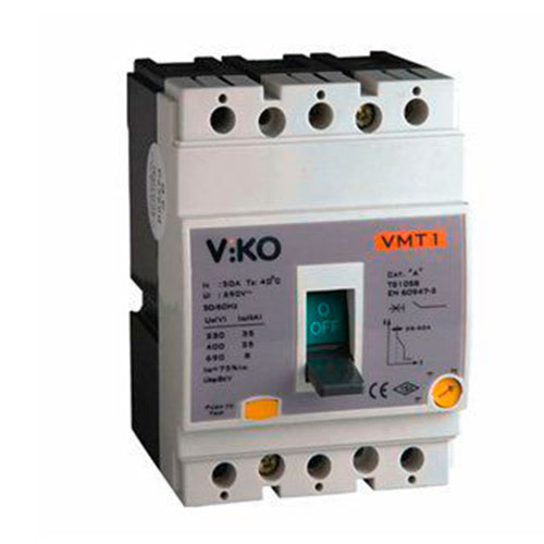 Viko 63A Kompakt Tip Termik Manyetik Güç Şalteri