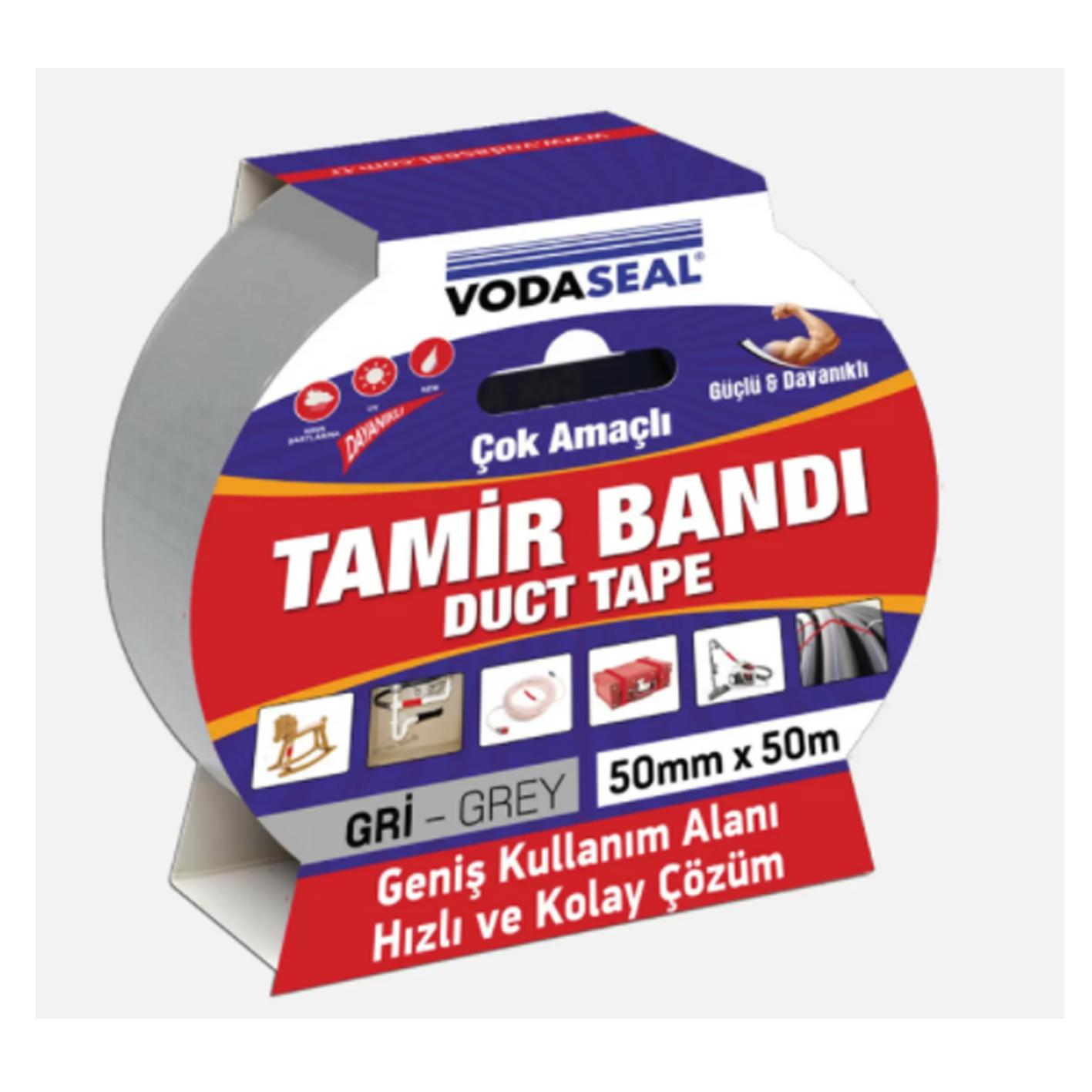 Vodaseal Duct Tape - Tamir Bandı 50Mm X 50M Siyah